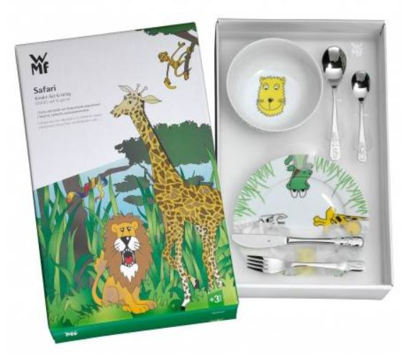 Kinderbesteck Safari 6-teilig